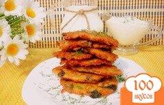 Фото рецепта: «Деруны с грибами»