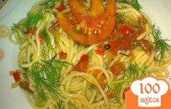 Фото рецепта: «Спагетти с остринкой»
