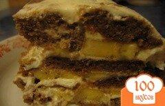 Фото рецепта: «Пряничный торт без выпечки»