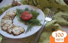 Фото рецепта: «Кабачки под сырной шубкой с чесноком»