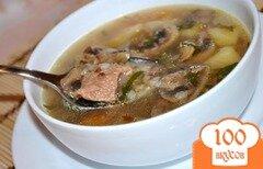 Фото рецепта: «Суп гречневый с грибами»