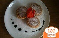 Фото рецепта: «Сырники с шоколадом»