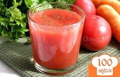 """Фото рецепта: «Фреш """"Томат и морковь""""»"""