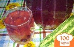 Фото рецепта: «Компот из кабачка и ягод»