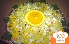 Фото рецепта: «Картофель в апельсиновом соке»
