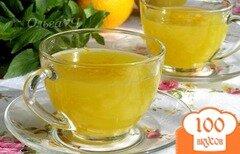 Фото рецепта: «Апельсиновый кисель с лимоном»