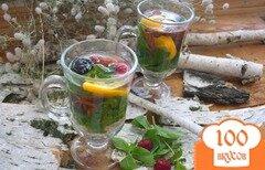 Фото рецепта: «Деревенский настой с ягодами»
