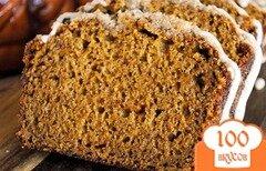 Фото рецепта: «Тыквенный хлеб с глазурью»