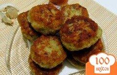 Фото рецепта: «Картофельные котлеты с фаршем»