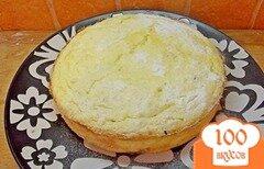 Фото рецепта: «Творожная запеканка с грушей и медом»
