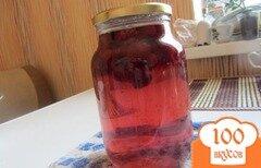 Фото рецепта: «Концервированный малиновый напиток на зиму»