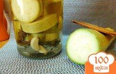 Фото рецепта: «Консервированный кабачок в сладком маринаде»
