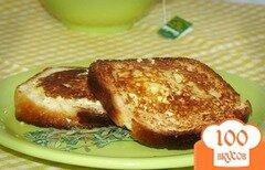 Фото рецепта: «Бутерброды на сковороде»