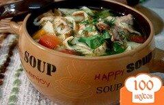 Фото рецепта: «Суп Сансет»
