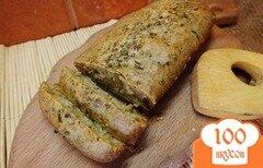 Фото рецепта: «Хлеб с итальянскими травами и фенхелем на молоке»