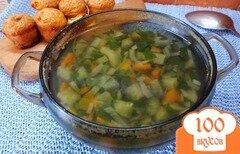 Фото рецепта: «Суп диетический со спаржевой фасолью»