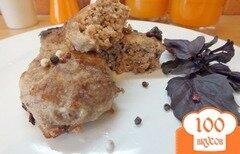 Фото рецепта: «Котлеты из говядины с черным хлебом»