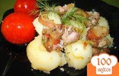 Фото рецепта: «Картофель с поджаркой»