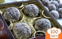 Фото рецепта: «Конфеты из фиников с лесными орехами»