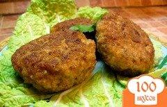 Фото рецепта: «Котлеты куриные с грибами»