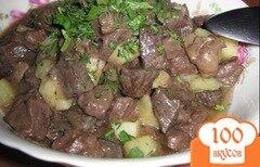 Фото рецепта: «Куырдак с картофелем»