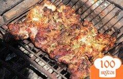 Фото рецепта: «Цыпленок табака на гриле»
