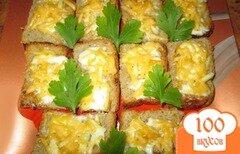 Фото рецепта: «Чесночные гренки с майонезом и сыром»
