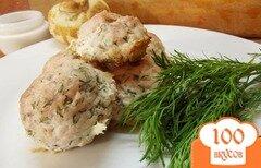 Фото рецепта: «Ароматные куриные котлеты с укропом в духовке»