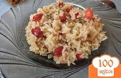Фото рецепта: «Рис по-грузински с кизилом»