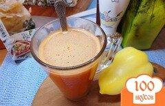 Фото рецепта: «Острый овощной фрэш с зеленью»
