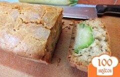Фото рецепта: «Сладковатый хлеб с кабачком и прованскими травами»