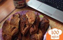 Фото рецепта: «Французские круасаны с Орехово-шоколадной пастой»