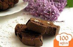 Фото рецепта: «Шоколадные бискотти с Бэйлис»