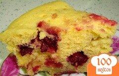 """Фото рецепта: «Пирог """"Mинутка"""" в микроволновке»"""