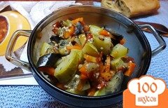 Фото рецепта: «Диетическое овощное рагу с ароматными травами»