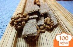Фото рецепта: «Хлебцы из орехово-овсяной муки»