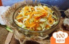 Фото рецепта: «Салат из свежих кабачков и моркви»