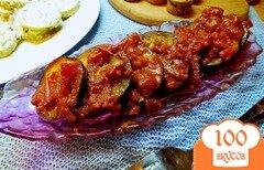Фото рецепта: «Баклажаны под соусом из помидоров»