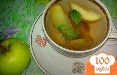 Фото рецепта: «Компот из яблок, облепихи, слив»