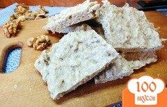 Фото рецепта: «Овсяные хлебцы с грецкими орехами»
