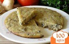 Фото рецепта: «Закусочный манник с грибами (в мультиварке)»