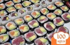 Фото рецепта: «Суши со свежим тунцом»
