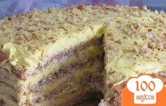 """Фото рецепта: «Торт """"Египетский""""»"""