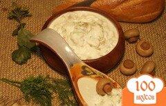 Фото рецепта: «Грибной белый соус»