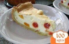 Фото рецепта: «Немецкий творожный торт»