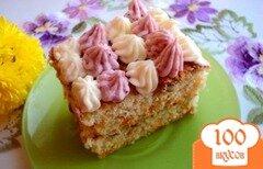 Фото рецепта: «Тыквенно-ореховое пирожное»