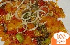 Фото рецепта: «Картошка с брокколи»