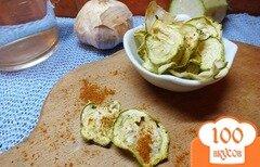 Фото рецепта: «Чипсы кабачковые острые»