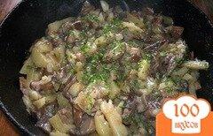 Фото рецепта: «Подберезовики, жареные с картофелем»