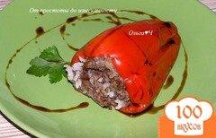 Фото рецепта: «Фаршированный перец на пару (в мультиварке)»